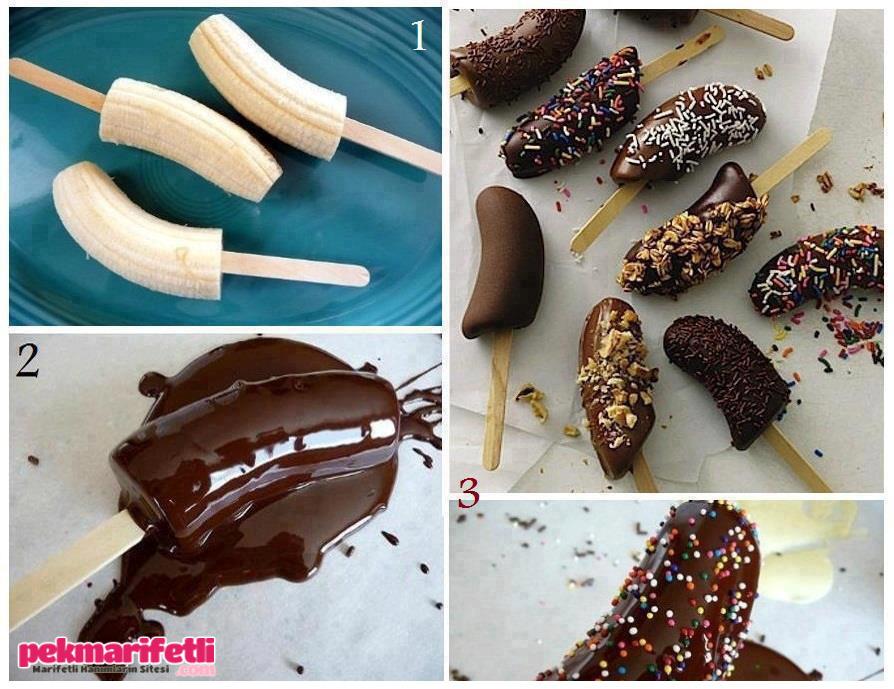 Çikolatalı muz tatlısı ;)