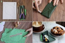 10 dakikada deriden kolay cüzdan yapımı
