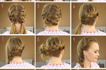 12 farklı örgülü saç modeli