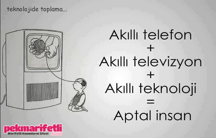 Akıllı telefon akıllı televizyon