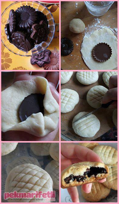 Biskrem kurabiye nasıl yapılır?
