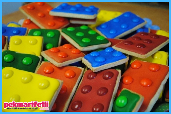 Lego kurabiye yapımı