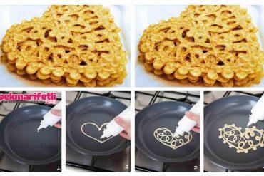 Meğer o güzel wafflelar böyle yapılıyormuş :)Meğer o güzel wafflelar böyle yapılıyormuş :)