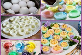 Renkli yumurta nasıl yapılır?