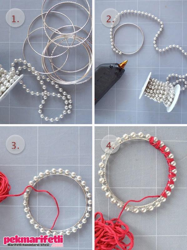 Как сделать бусы и браслет своими руками