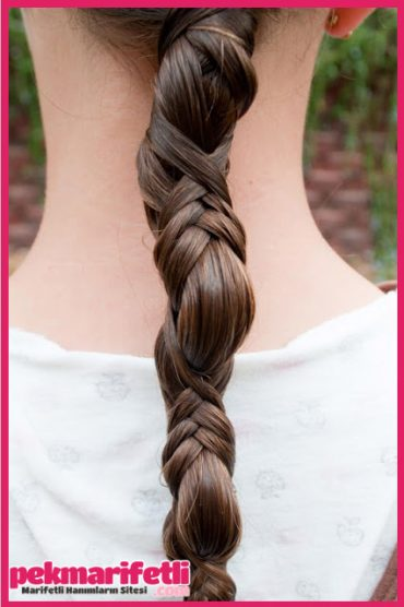Saç örgü modelii ;)