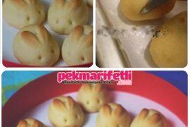 Tavşan kurabiye yapımı