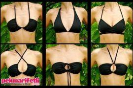 Tek bir bikiniyle 6 model yaratın ;)