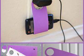 Telefonunuz şarjdayken nereye koyacağınızı bilemiyorsanız.. :)