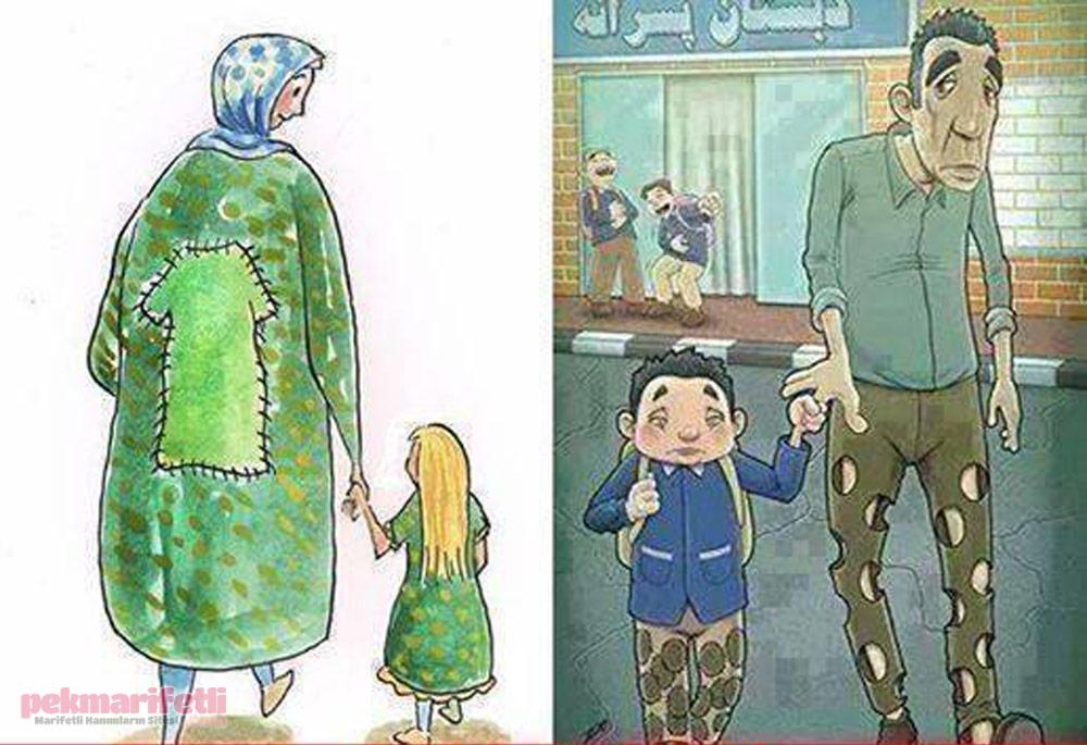 Anne ve baba fedakarlığı daha nasıl anlatılır..!