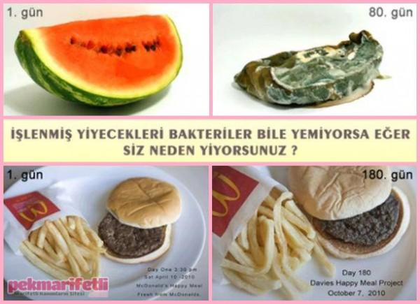 Bakteriler bile yemiyorsa, siz neden yiyorsunuz?