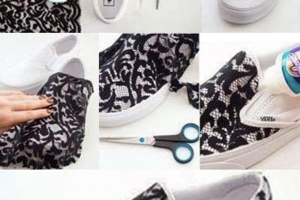 Bez ayakkabınızı güpürlerle hareketlendirin