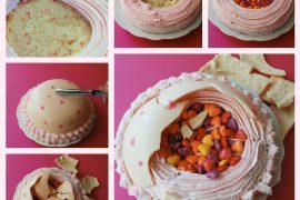 Bir süpriz pasta daha..!