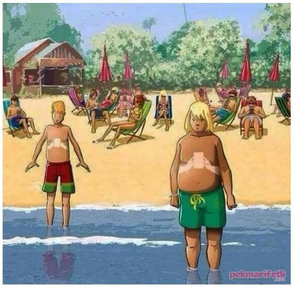 Bu yaz gençler böyle bronzlaşacak :) :(