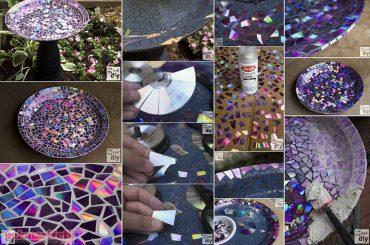 CD'lerle tabak nasıl süslenir?