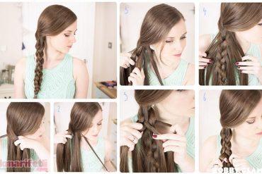 Çiftli saç örgüsü nasıl yapılır?