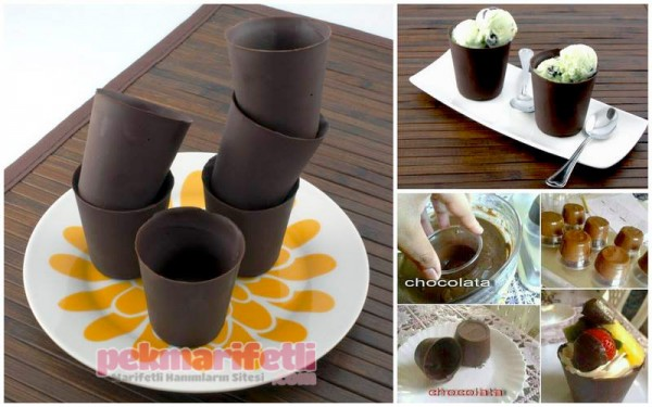 Çikolata kap yapımı