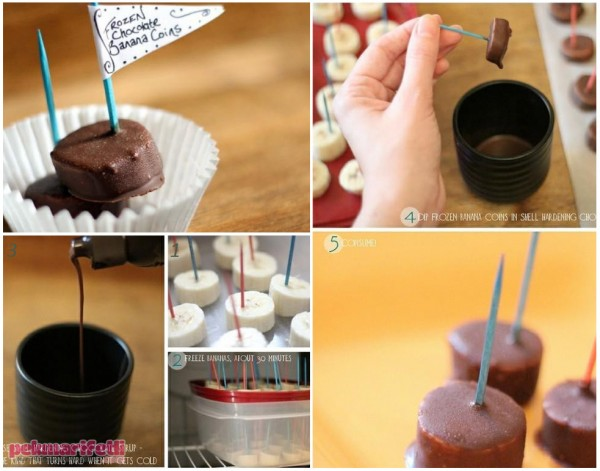 Çikolatalı muz tarifi