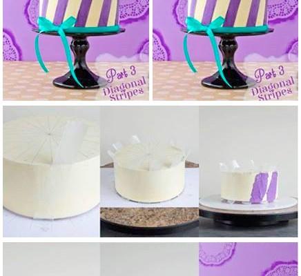 Çizgili pasta yapmak ister misiniz?
