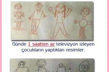 Çocuklarımızı televizyondan uzak tutalım..!