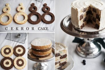 Dama desenli kek nasıl yapılır?