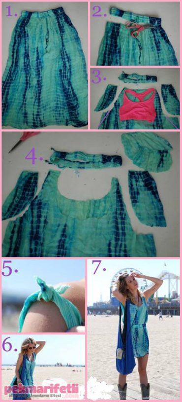 Dikişsiz elbise nasıl yapılır?