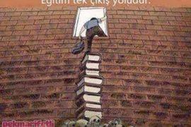 Eğitim tek çıkış yoludur..!