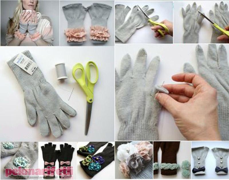 Eldivenlerinize yaratıcılığınızla hayat verin