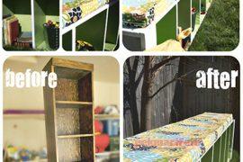 Eskiyen rafınızı bahçe koltuğuna dönüştürün