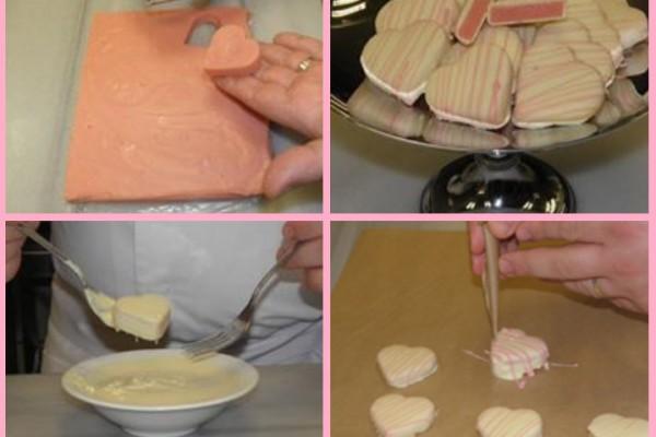 Evde kalp çikolata nasıl yapılır?
