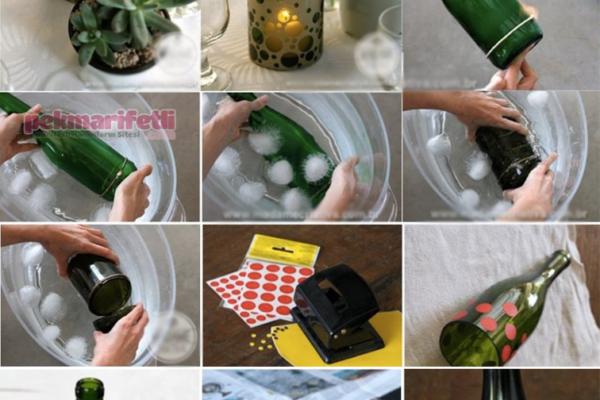 Evde cam şişe kesimi nasıl yapılır?