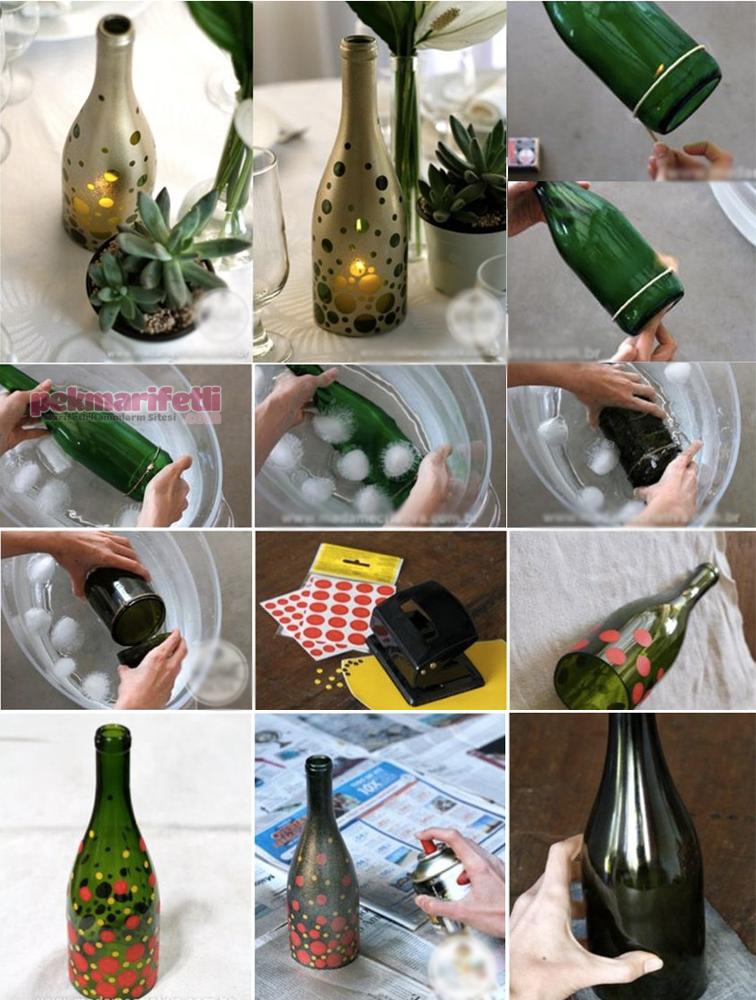 Evde Cam şişe Kesimi Nasıl Yapılır Geri Dönüşüm Pek Marifetli