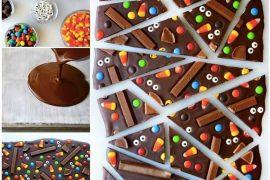 Evde süslü püslü çikolata yapımı :)