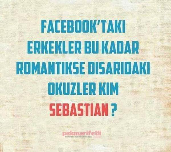 Facebooktaki romantik erkekler