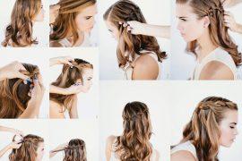 Fransız şelalesi saç modeli nasıl yapılır?