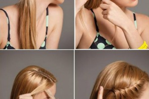 Günlük kolay saç modeli