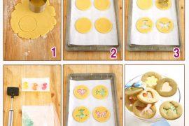 Hem şeffaf hem renkli bisküvi yapımı ve tarifi