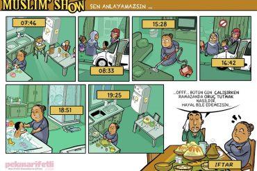 Kadın olmak, ramazanda bir başka zor..!