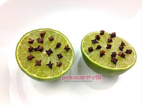 Karanfil ve limonla doğal sivrisinek kovucu hazırlama