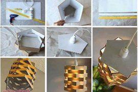 Kartondan kolay avize yapımı