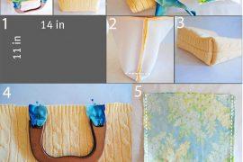 Kazaktan çanta nasıl yapılır?