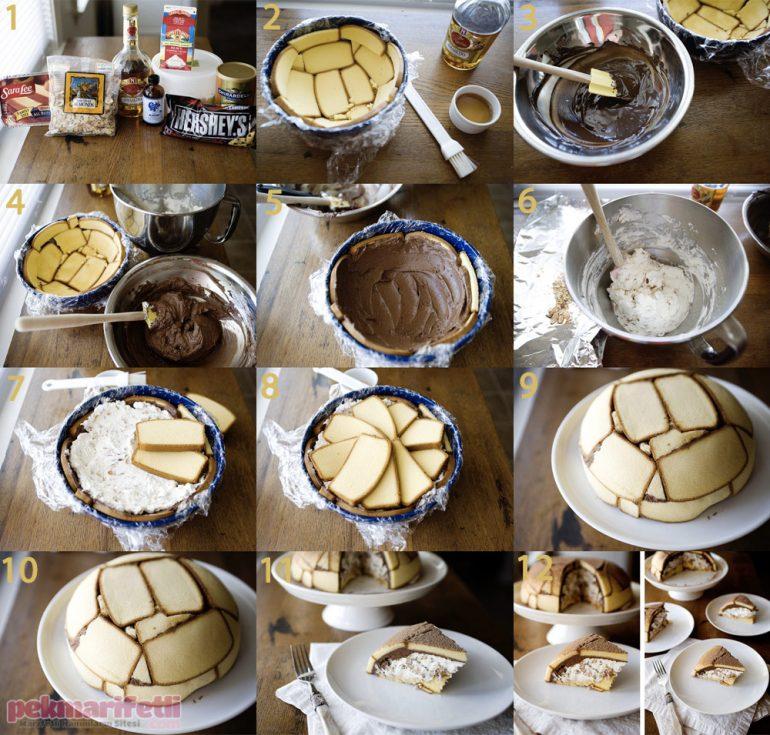 Kek dilimli çabuk pasta nasıl yapılır?