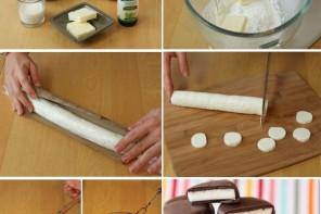 Kremalı çikolatalı dilimler nasıl yapılır?