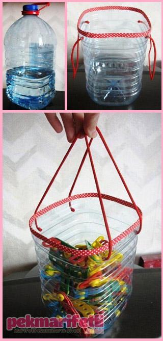 Oyuncak torbası olarak kullanılabilir