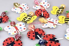 Partileriniz için kelebekli şeker sunumu