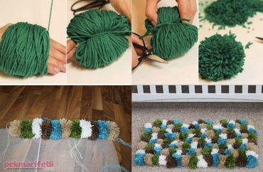 Ponponlardan paspas yapımı
