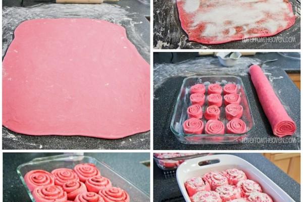 Rulo kurabiye yapımı