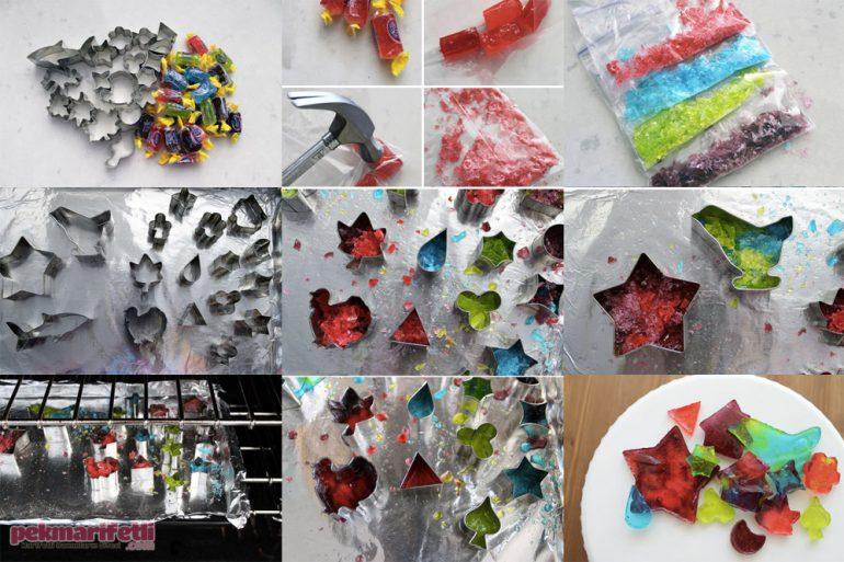 Şekilli şekerler nasıl yapılır?