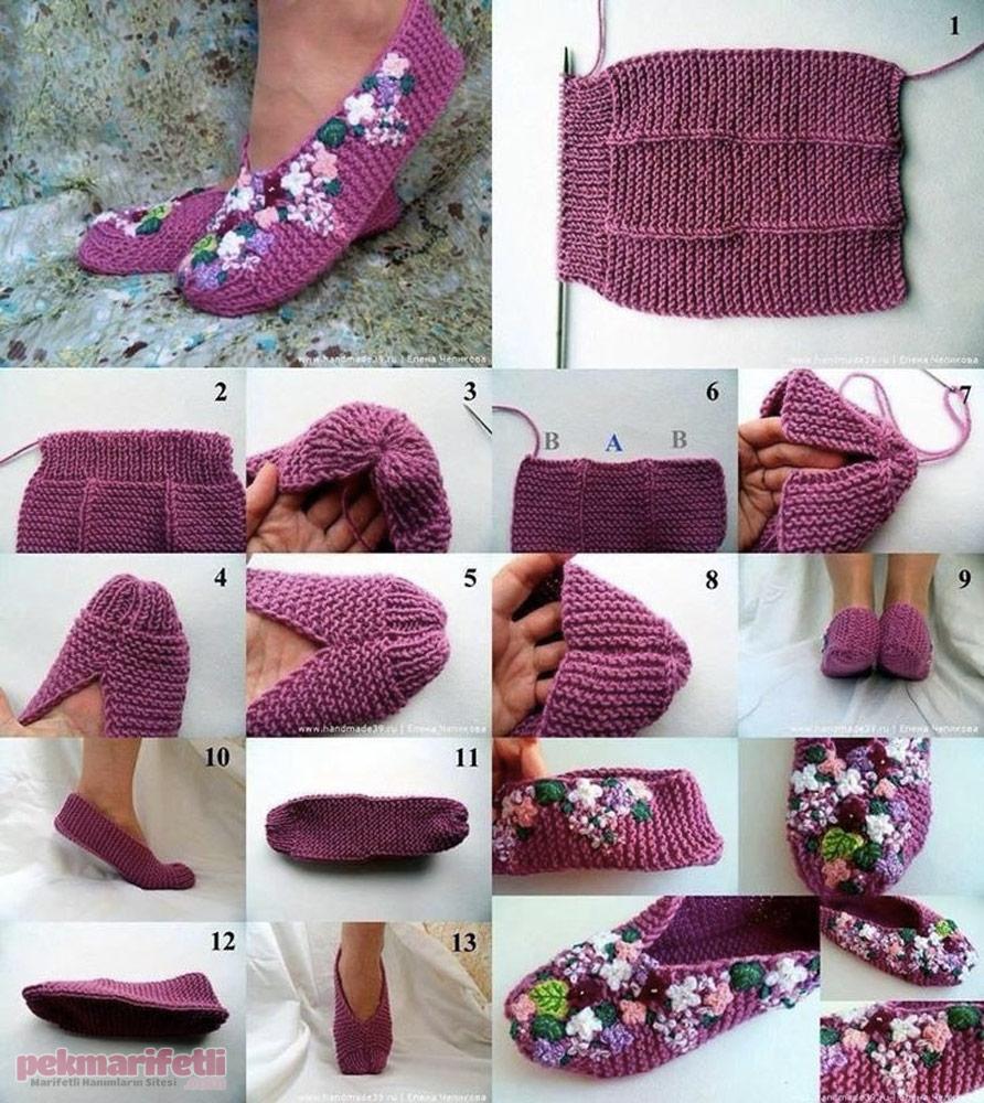 I rg s yle kolay patik yap m el yap m pek marifetli for Pinterest do it yourself crafts