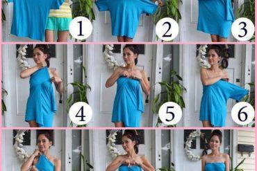 Tişörtten elbise nasıl yapılır?